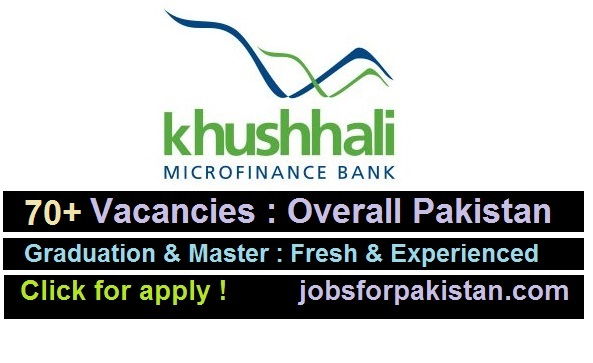 Khushhali Microfinance Bank Jobs