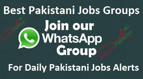 10 Best Jobs Whatsapp groups for Pakistan